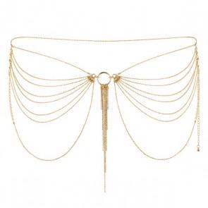 Bijoux Magnifique Metallic Chain Waist Jewellery