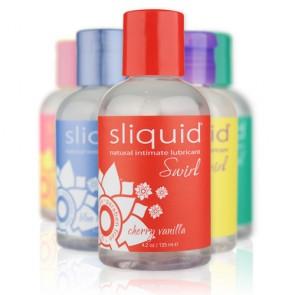 Sliquid Naturals Swirl Flavoured Lubricants