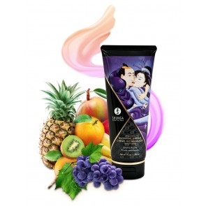 Shunga Kissable Massage Cream - Exotic Fruits