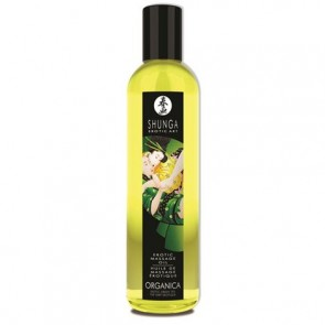 Shunga Massage Oil Organica - Green Tea