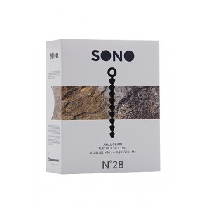 Sono No.28 Anal Chain - Black