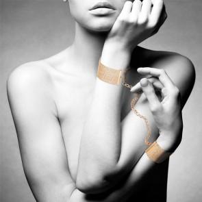 Bijoux Magnifique Metallic Chain Handcuffs & Bracelets