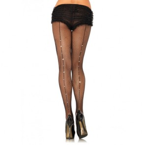 Leg Avenue Backseam Fishnet Pantyhose