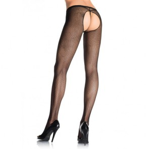 Leg Avenue Crotchless Fishnet Pantyhose