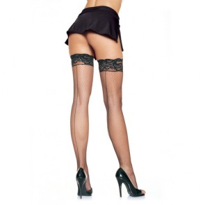 Leg Avenue Plus Size Stay up Fishnet