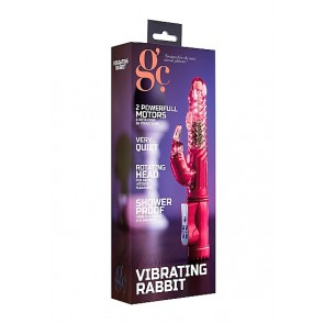 GC Vibrating Rabbit - Pink