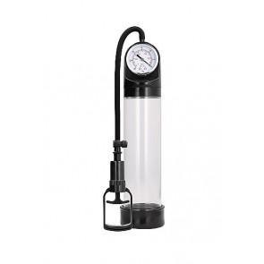Pumped Comfort Pump With Advanced PSI Gauge Transparent