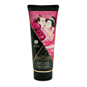 Shunga Kissable Massage Cream - Raspberry Feeling