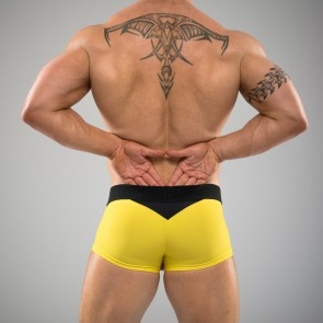 SUKREW U Trunk in Yellow & Black