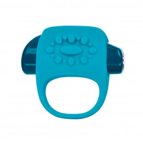 Key Collection Halo Silicone Vibrating Ring