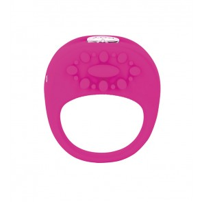 Key Collection Ela Rechargeable Vibrating Silicone Ring