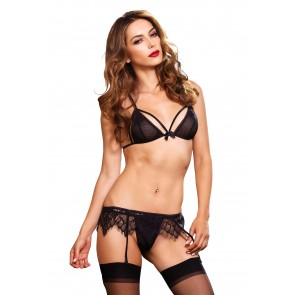 Chantilly Lace Strappy 3pc Bra Set