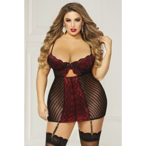 Seven Til Midnight Chemise & Panty Set