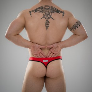 SUKREW U Thong in Red & Black