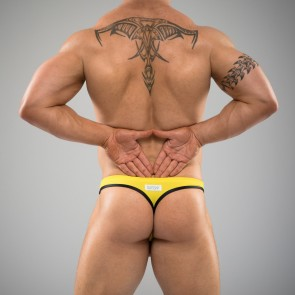 SUKREW U Thong in Yellow & Black