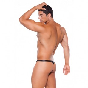 Allure Zeus Wet Look Thong