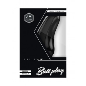 BOTTOM LINE Rubber Buttplug - Model 7