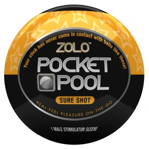 Zolo Masturbator Pocket Pool Sure Shot
