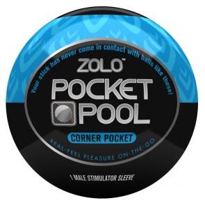 Zolo Masturbator Pocket Pool Corner Pocket