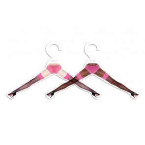 Cheeki Hangers Set of 2 - Pink