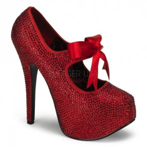 Teeze: Rhinestone Maryjane Shoe