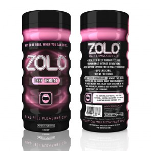 Zolo Masturbator Deep Throat Cup