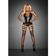 Noir Body Garter Belt 'Outrageous '