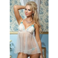 I Do - Lace & Tulle Babydoll