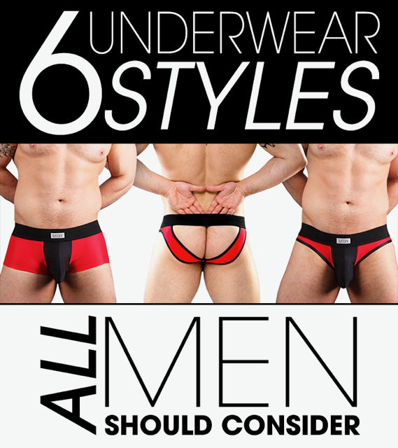 6 Underwear Styles All Men Should Consider