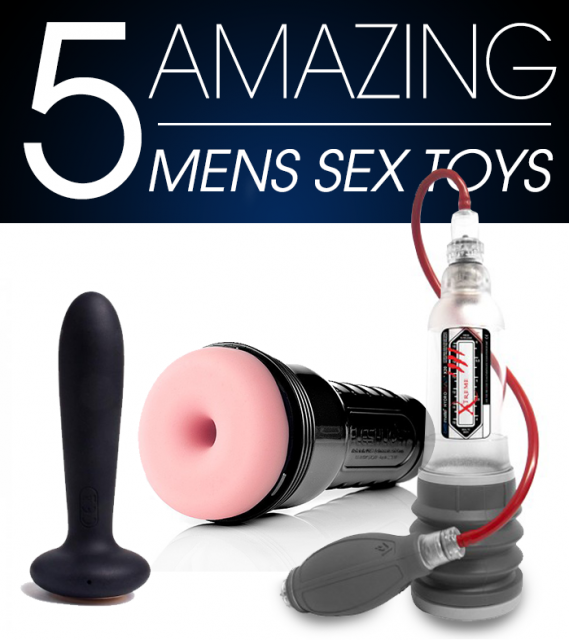 5 Amazing Men's Sex Toys