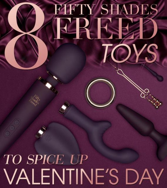 8 Fifty Shades Freed Toys To Spice Up Valentines Day