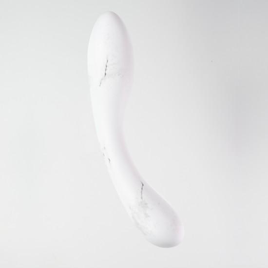DALIA Marble - Special Edition Porcelain G-Spot Dildo