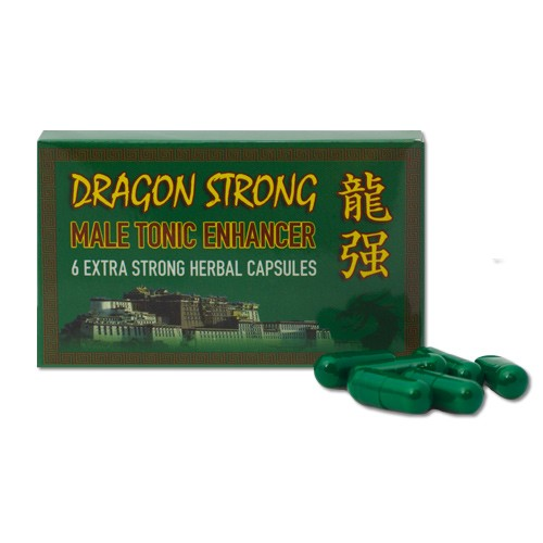 Dragon Strong Male Tonic Enhancer 6pk