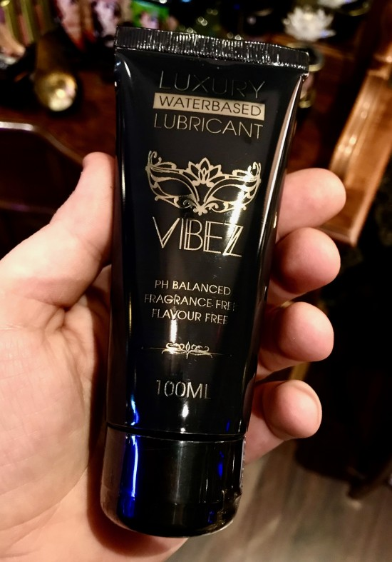 VIBEZ Luxury Waterbased Lubricant 100ml