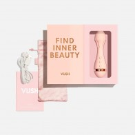 VUSH - Rose 2 - Super Strength Rechargeable Clitoral Vibrator