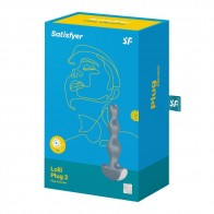 SATISFYER LOLLI-PLUG 2 VIBRATING ANAL TOY - ICE BLUE