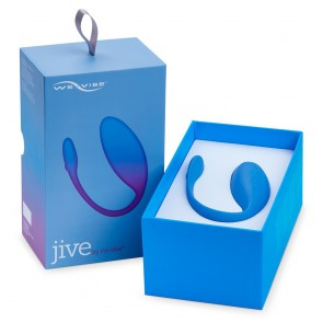 Jive by We-Vibe App Controlled G-Spot Egg - Blue