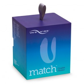 Match by We-Vibe Remote Controlled Clitoral & G-Spot Couples Vibe