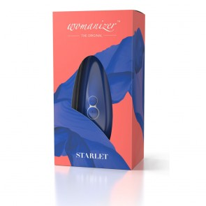 Womanizer Starlet Rechargeable Clitoral Sucking Vibe - Blue