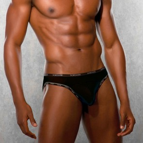 DOREANSE Mens Briefs Black
