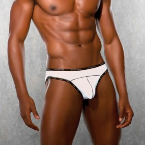 DOREANSE Mens Briefs White
