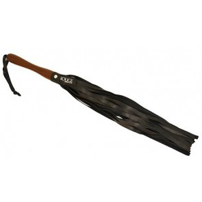Rouge Wooden Handle Flogger