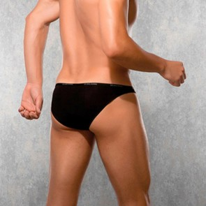 DOREANSE Mens Black Briefs