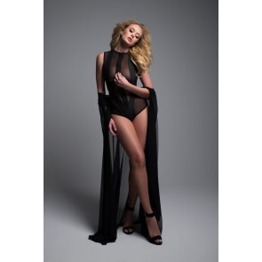 Adore By Allure Sheer Sleeveless Body With Wild Zipper