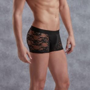 DOREANSE Mens Lace Boxer Shorts