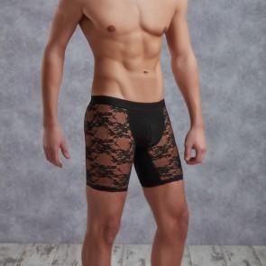 DOREANSE Long Lace Shorts