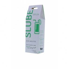 Slube Gin Mojito Water Based Bath Gel 250g