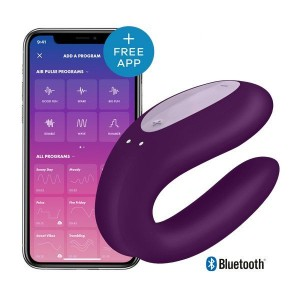 Satisfyer Double Joy in Violet
