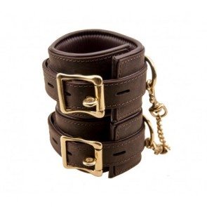 BOUND Nubuck Leather Wrist Restraints