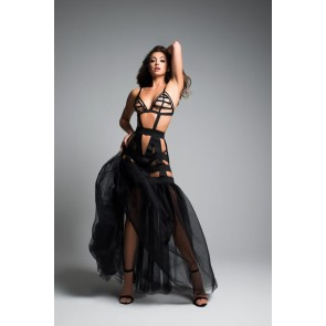 Adore By Allure Fantasy Mermaid Dress With Tulle Tail